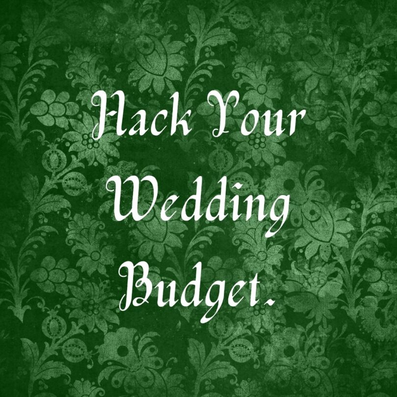 Quick & Dirty Tips to Save Money on your Wedding