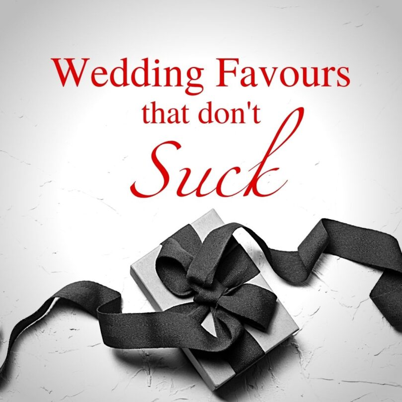 Wedding Favours Your Guests Will Actually Use